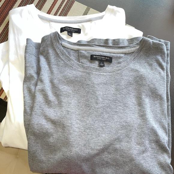 Men's Banana Republic luxury touch t shirt bundle
